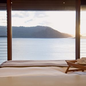 Qualia Resort Wonderful Bedroom Design With The Sunrise View