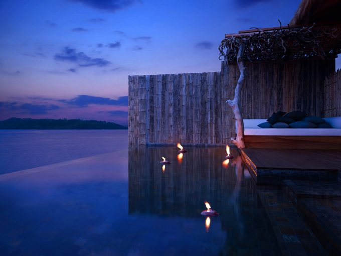 Romantic Ambience With Mini Borderles Pool In Song Saa Private Island