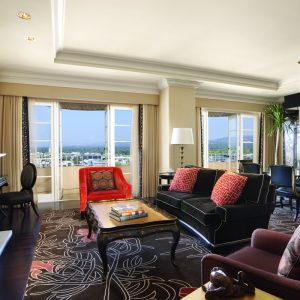 Royal Suite Provide Comfortable Service With Luxuty Interior Design And Stylish Furniture Also Spacy Room Design At Four Seasons Hotel Los Angeles