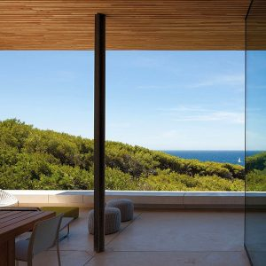 Sea View From Cozy Terrace Holiday House Design