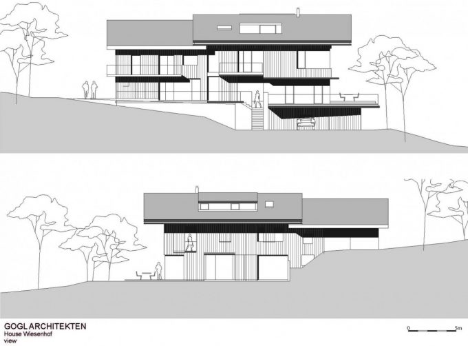 Section Wooden House Design
