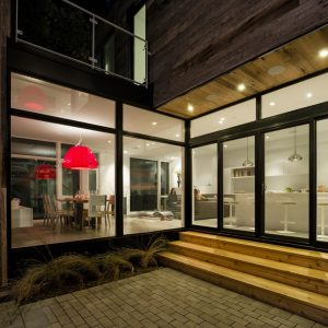 Transparencewith Floor To Ceiling Window For Bright Interior And Open Accent