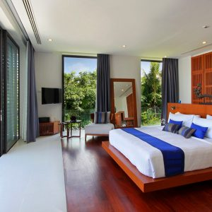 Villa Padma Modern Wooden Bedroom Theme With Opan Space Design And Stunning Foothills Scenery