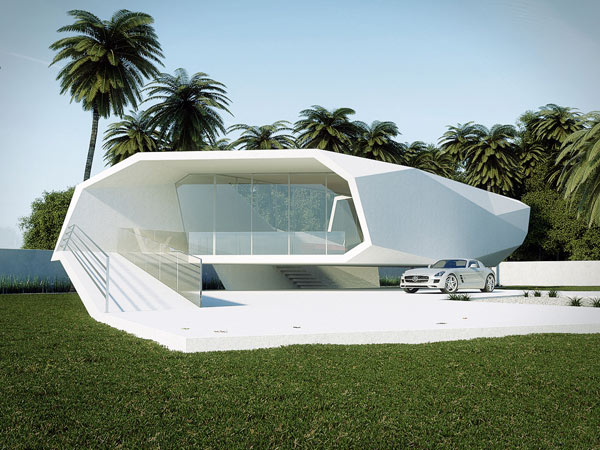 Wave House Concept By Gunes Peksen Artistic Home Design With Minimalist Touch