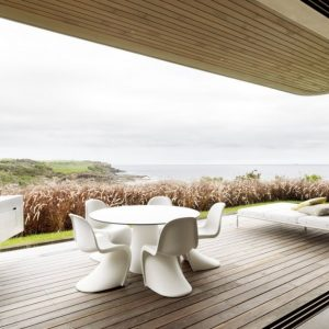 Wonderful Relaxing Terrace Breezy House Design In Sydney With Beautiful Sea View