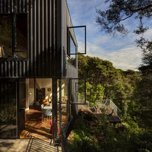 Architecture Project Blackpool Small Green House Design In New Zealand