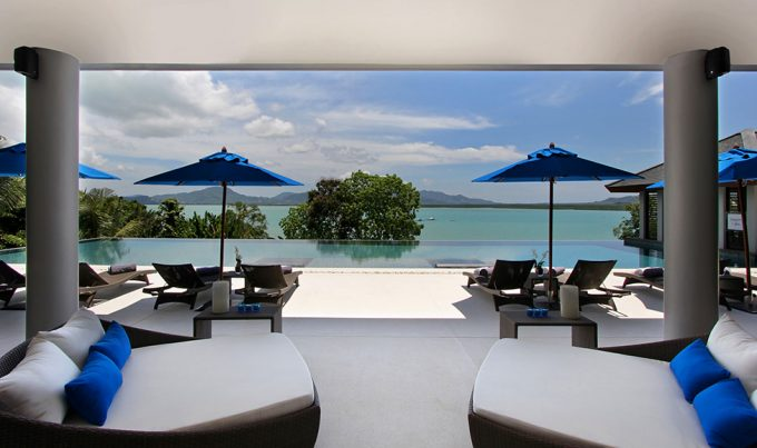 Design Villa Padma Cozy Pool Side Space Design Amazing Lounge Space With Beautiful Sea View