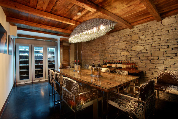 Great Wine Cellar Design Outstanding Wine Storage Design In Marco Polo Chalet