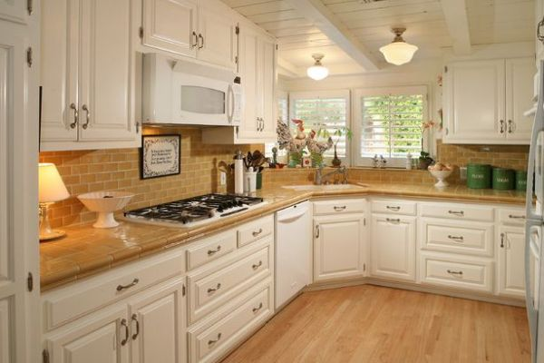 Interesting Kitchen Cabinetry With Corner Sink Occupies The Space Below The Window That Would Have Been Otherwise Wasted