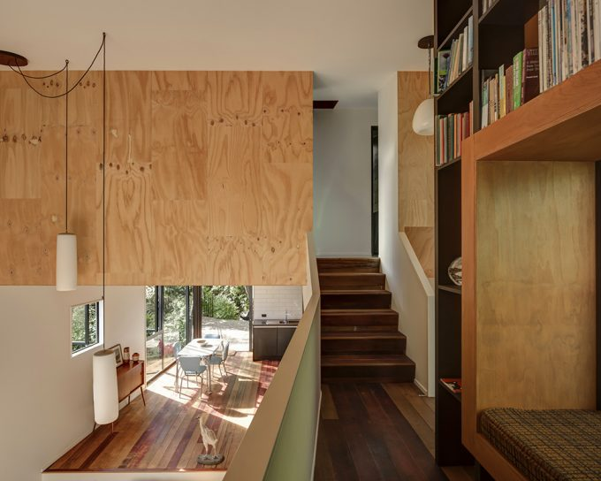 Interior Details With Wood Material Contemporary House Design
