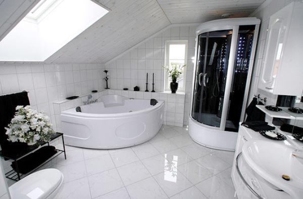 fancy bathroom space you should know luxury black and white bathroom design with finest material