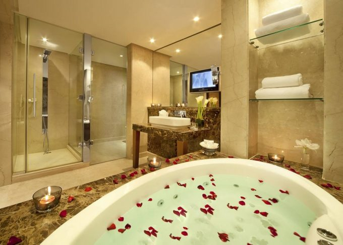 Luxury Hotel Bathroom Bahrain From Gulf Hotel With Luxury And Elegant Room Design