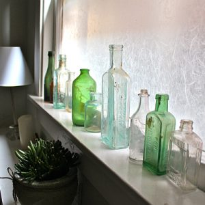 Make Privacy Space With Frosted Glass For The Bathroom Partition