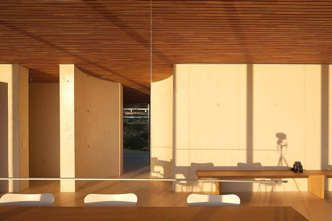 Natural Light Exposure With Warm Wooden Ceiling Warm Nuance Interior