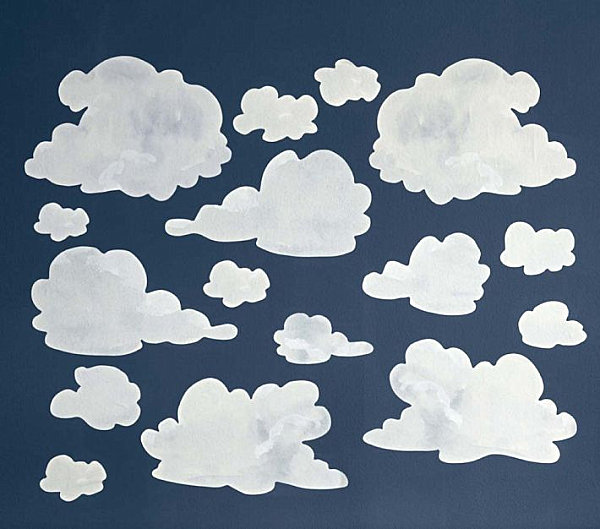 Relaxing Cloud Decals For Your Beloved Kid's