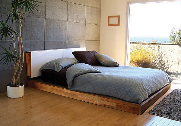 Simple Wood Japanese Bed Design Diy Platform Bed From Laxseries Com