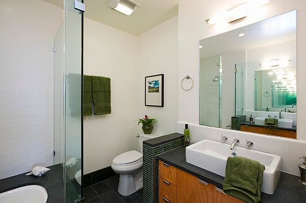Small Black Wall Tile For Toilet Privacy Bathroom Designing Ideas