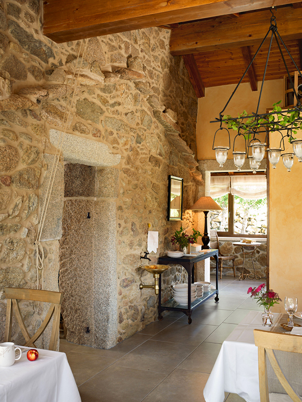Traditional Hotel Design With Beautiful Rustic Interior Spain Hotel