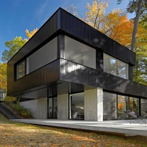Twin House Design Twin Lake House Design For Weekend Gateway