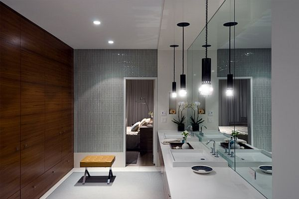 Bathroom Lights Design bathroom lighting design. muuto e27 pendant lightmattias