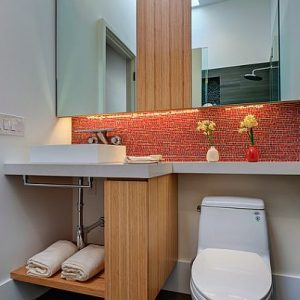 Use Bathroom Furniture To Hide The Toilet Privacy Toilet Tips
