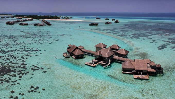 Villas On Sparking Lagoon Coral Villa Design Private Island Resort