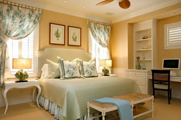 Warm Bedroom Design With Soft Yellow Wall Beautiful Bedroom With Traditional Interiors That Is Easy On The Eye By Sroka Design