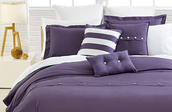 Wonderful Bedding Color With Solid Purple Bedding Fabuolus Bedroom Decor Ideas