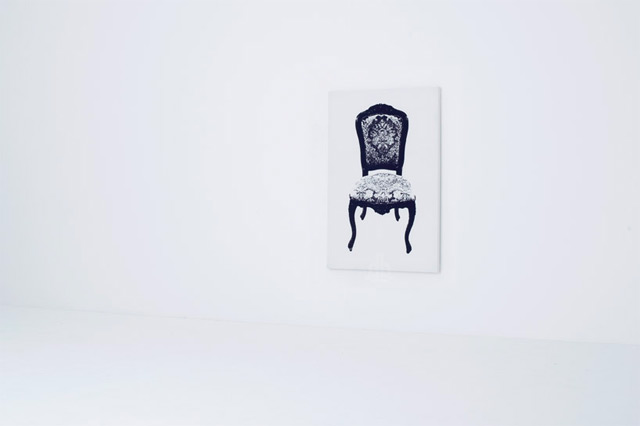 Art Furniture With Classic Painting Chair