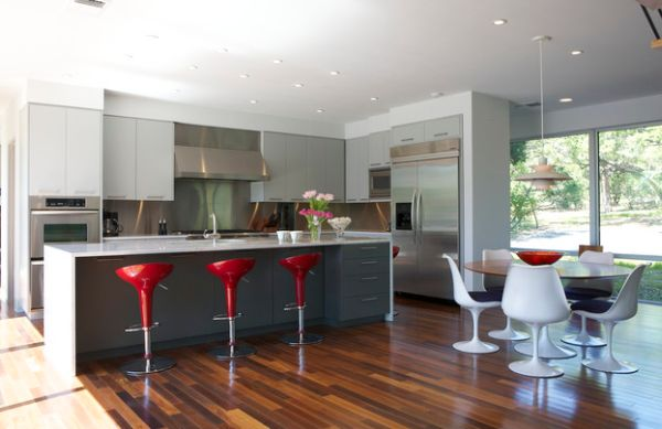 Cool Kitchen With Tulip Table For Eat In Kitchen Furniture