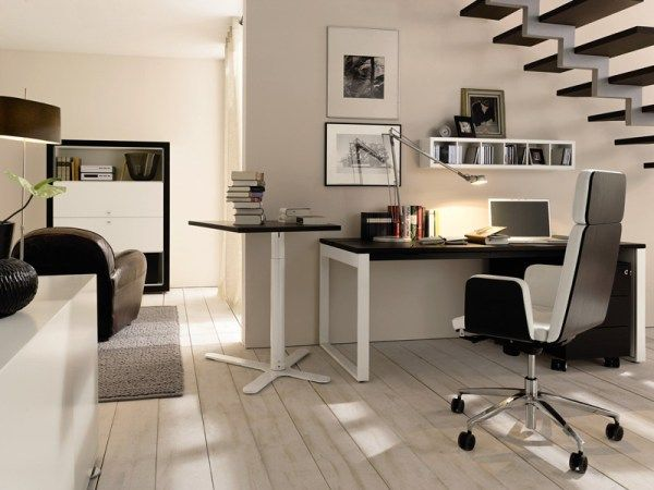 Modern Home Office Idea For Effective Space Arrangement
