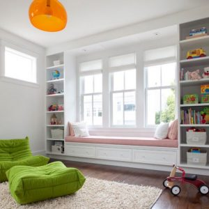 Comfort Apple Green Togo In The Kids Room Brings In Some Plush Color For Modern Sofa Design