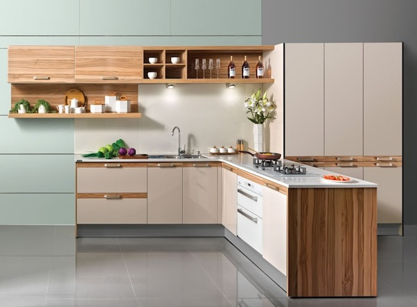 Cool Kitchen Details Frameless Cabinets And Drawer
