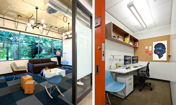 Kid's Room And Private Work Space In Microsoft Offices Redmond Campus