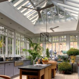 Lovely Kitchen Light Conservatory With Skyhigh Decor
