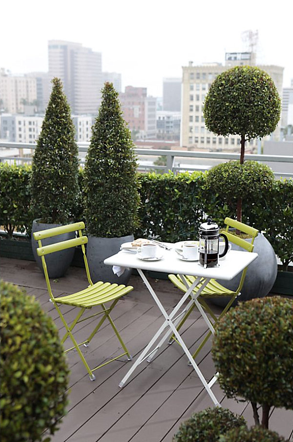 Outdoor Furniture Design With Outdoor Folding Table And Chairs