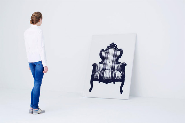 Painting Chair Is A Lovely Work Of Art
