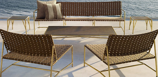 Stylish Montecito Collection From Restoration Hardware With Outdoor Furniture Design