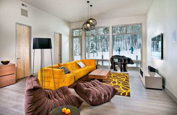 Stylish Yellow Sofa By The Togo