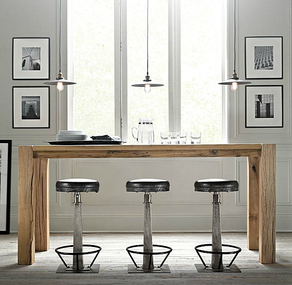 The Kitchen Bar Look With 3 Barstool