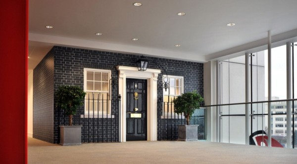 Unique Office Design With Rackspace Office Typical British House Entrance