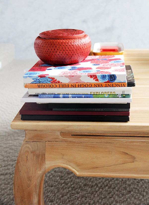 Wood Table For Interior Decor