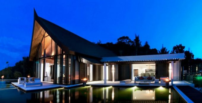 Awesome Lighting Design In Modern Villa Design Ideas