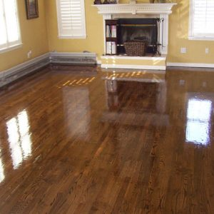 Dustless Hard Wood Flooring With Rustic Fireplace And Windows Decor