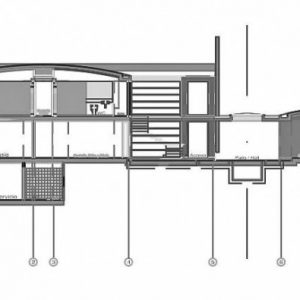 House Section Of Modern House Design