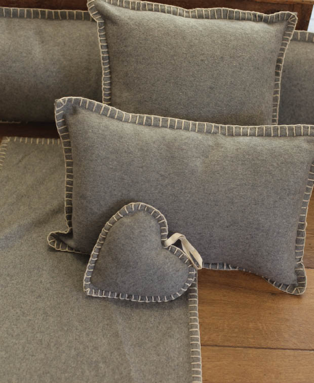 Comfy And Soft Furnishings With Scandinavian Design Using Cushion And Throws For Minimalist Interior