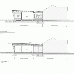 Sections Of Addition House Plans With Eco Friendly Design