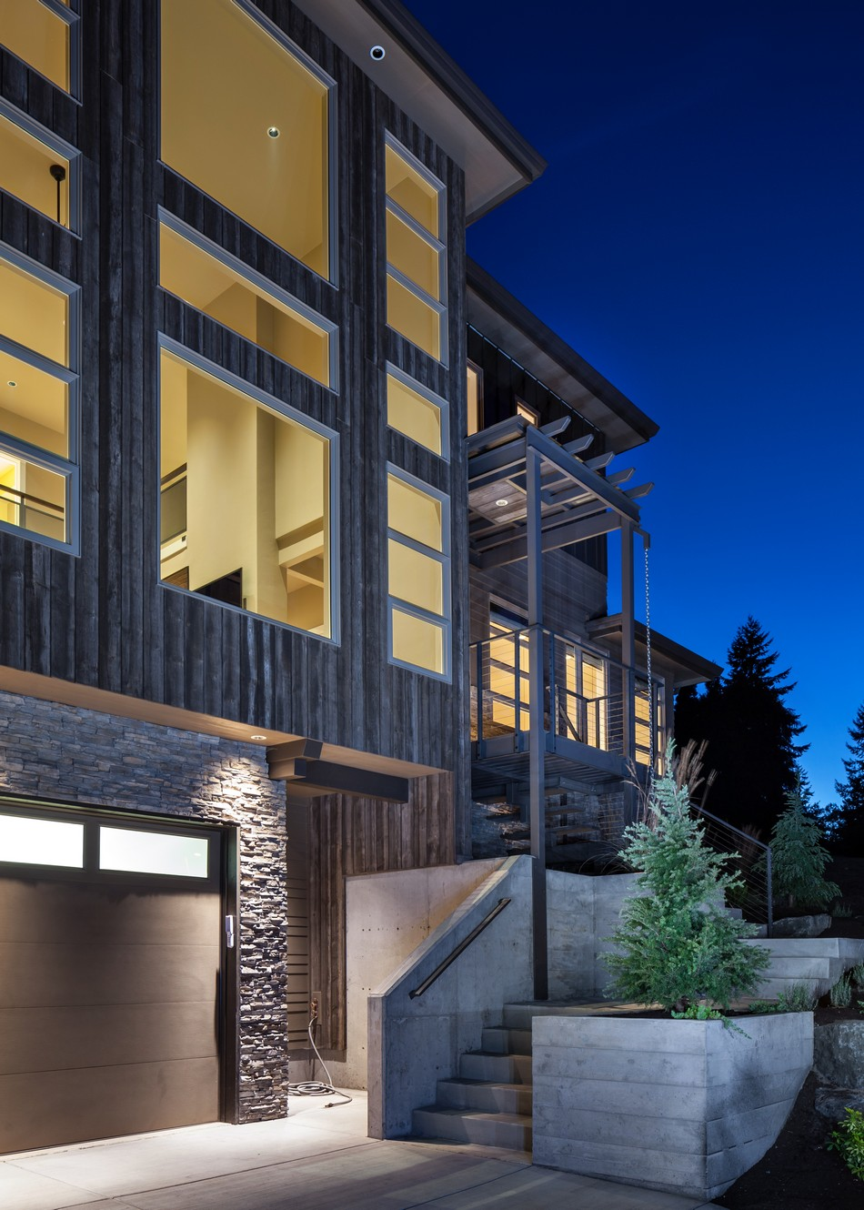 Multi Level Home Design: Jordan Iverson Signature Homes: Design Modern Home  From Jordan