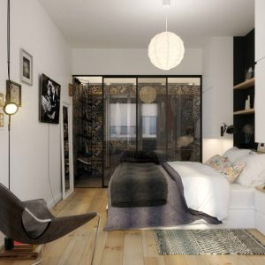 Minimalist Bedroom Design For Young People Using Scandinavian Style
