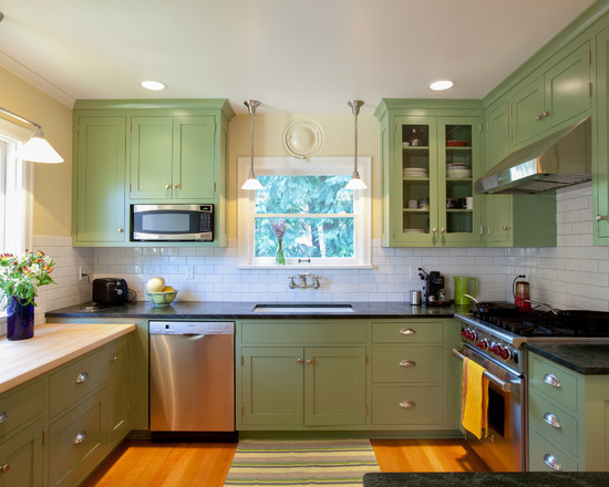 Furniture best light green kitchen cabinets idea Kitchen cabinets light green